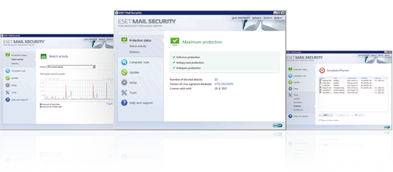 ESET Mail Security for Microsoft Exchange Server Antivirus Antispam